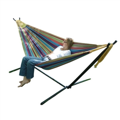 Home > Outdoor > Outdoor Furniture > Hammocks > Tropical Fabric Double Hammoc