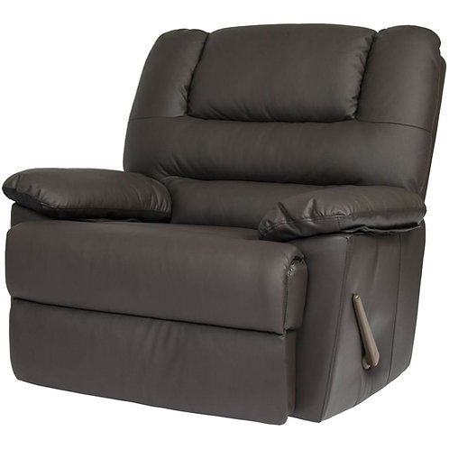 Home > Living Room > Recliners and Leather Recliner > Sturdy Brown Padded Fau