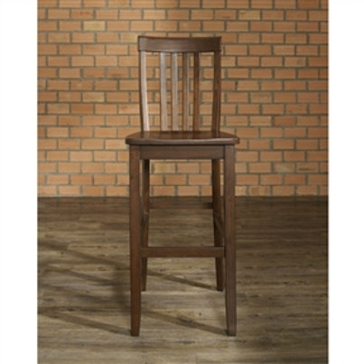 Home > Dining > Barstools > Set of 2 - Solid Hardwood 30-inch Bar Stools in W