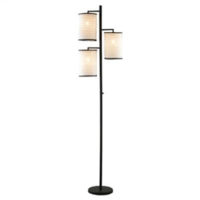 Home > Lighting > Floor Lamps > Modern Japanese Style 3-Light Tree Floor Lamp