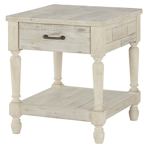 Home > Bedroom > Nightstand and Dressers > Cottage Style 1-Drawer End Table N