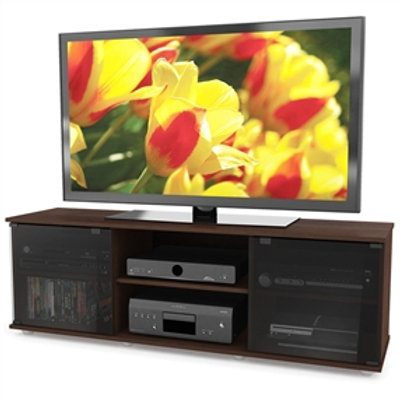 Home > Living Room > TV Stands and Entertainment Centers > Contemporary Brown