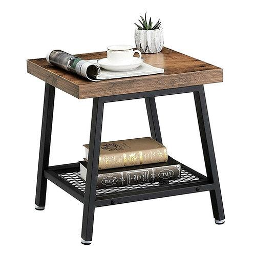 Home > Bedroom > Nightstand and Dressers > Modern Industrial Metal Wood Night