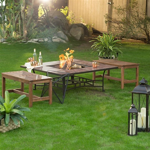 Home > Outdoor > Outdoor Furniture > Patio Furniture Sets > 3 Piece Natural W