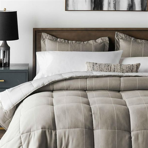 Home > Bedroom > Comforters and Sets > King 3 Piece Down Alternative Chambray