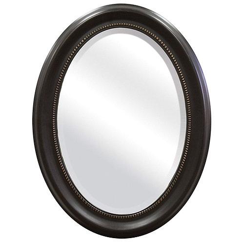 Home > Bathroom > Bathroom Mirrors > Round Oval Bathroom Wall Mirror with Bev