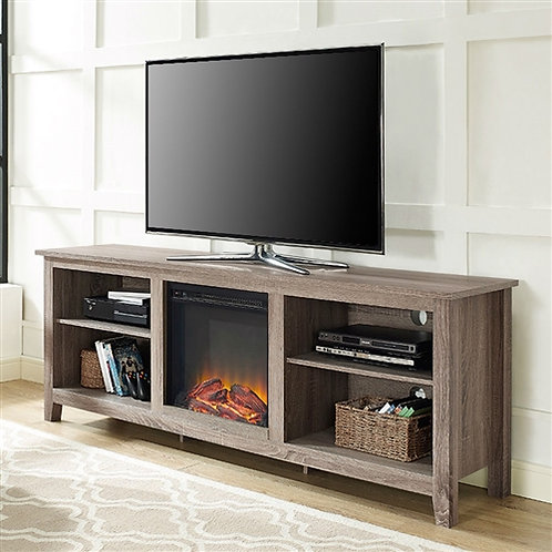 Home > Accents > Electric Fireplaces > Driftwood 70-inch TV Stand Space Heate