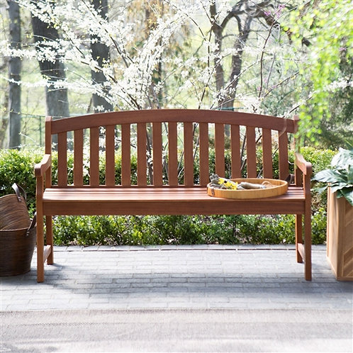 Home > Outdoor > Outdoor Furniture > Garden Benches > Curved Back 4-Ft Outdoo