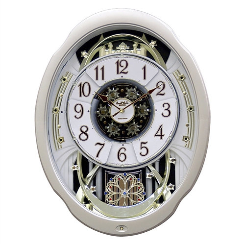 Home > Accents > Clocks > Moving Face Pendulum Wall Clock - Plays Melodies Ev