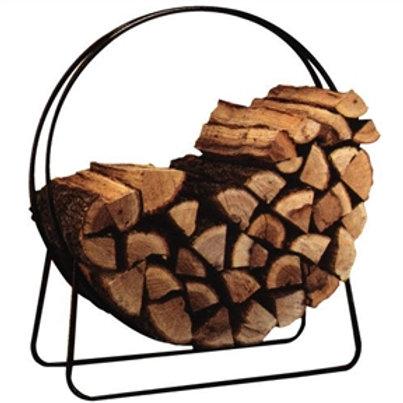 Home > Outdoor > Firewood Racks > Round Circular 40-inch Steel Hoop Firewood