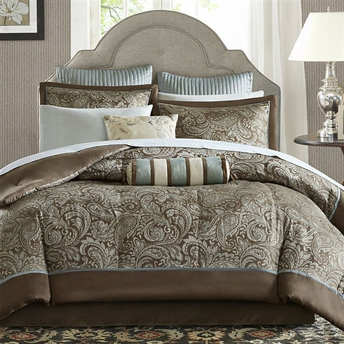 Home > Bedroom > Comforters and Sets > California King 12-piece Reversible Co