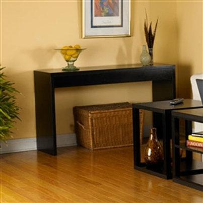 Home > Living Room > Console & Sofa Tables > Contemporary Espresso Black Wood
