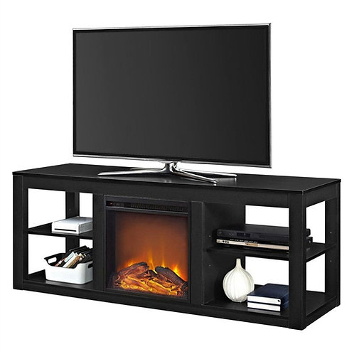 Home > Accents > Electric Fireplaces > Modern 2-in-1 Electric Fireplace TV St