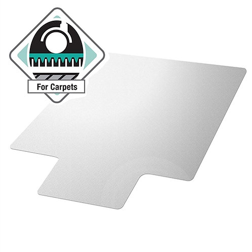 Home > Office > Chair Mats > Heavy Duty 47 x 35 inch Chair Mat with Lip for L