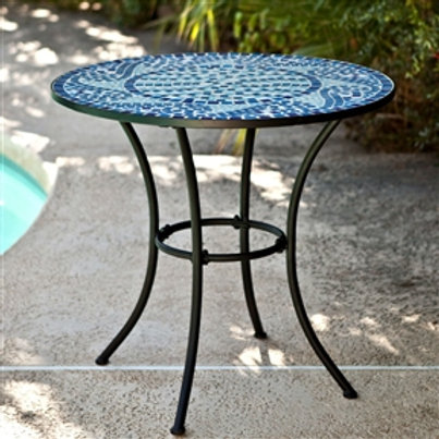 Home > Outdoor > Outdoor Furniture > Patio Tables > 30-inch Round Metal Outdo