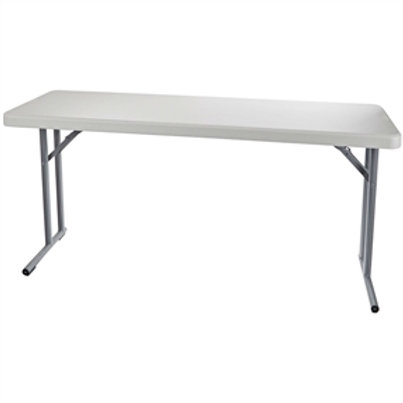 Home > Office > Folding Tables > Steel Frame Rectangular Folding Table with S