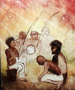 capoeira painting
