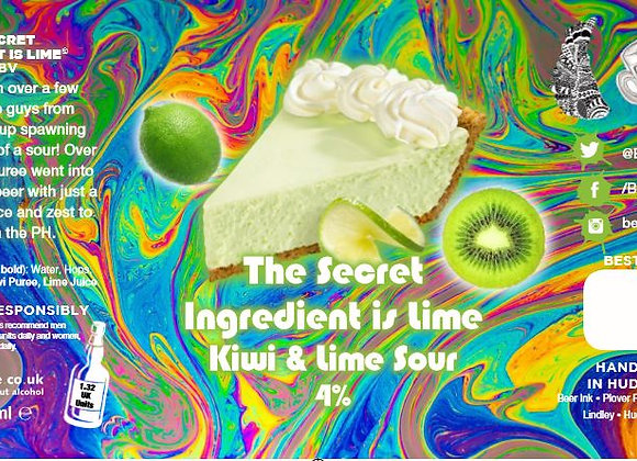 The Secret Ingredient is Lime - Sour - 4%