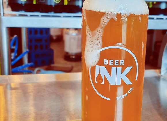 Beer Ink Can Glass