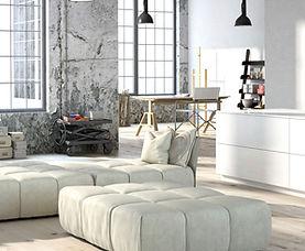 Salas planejadas e móveis sob medida