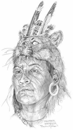 Indigenous tribe Timucua