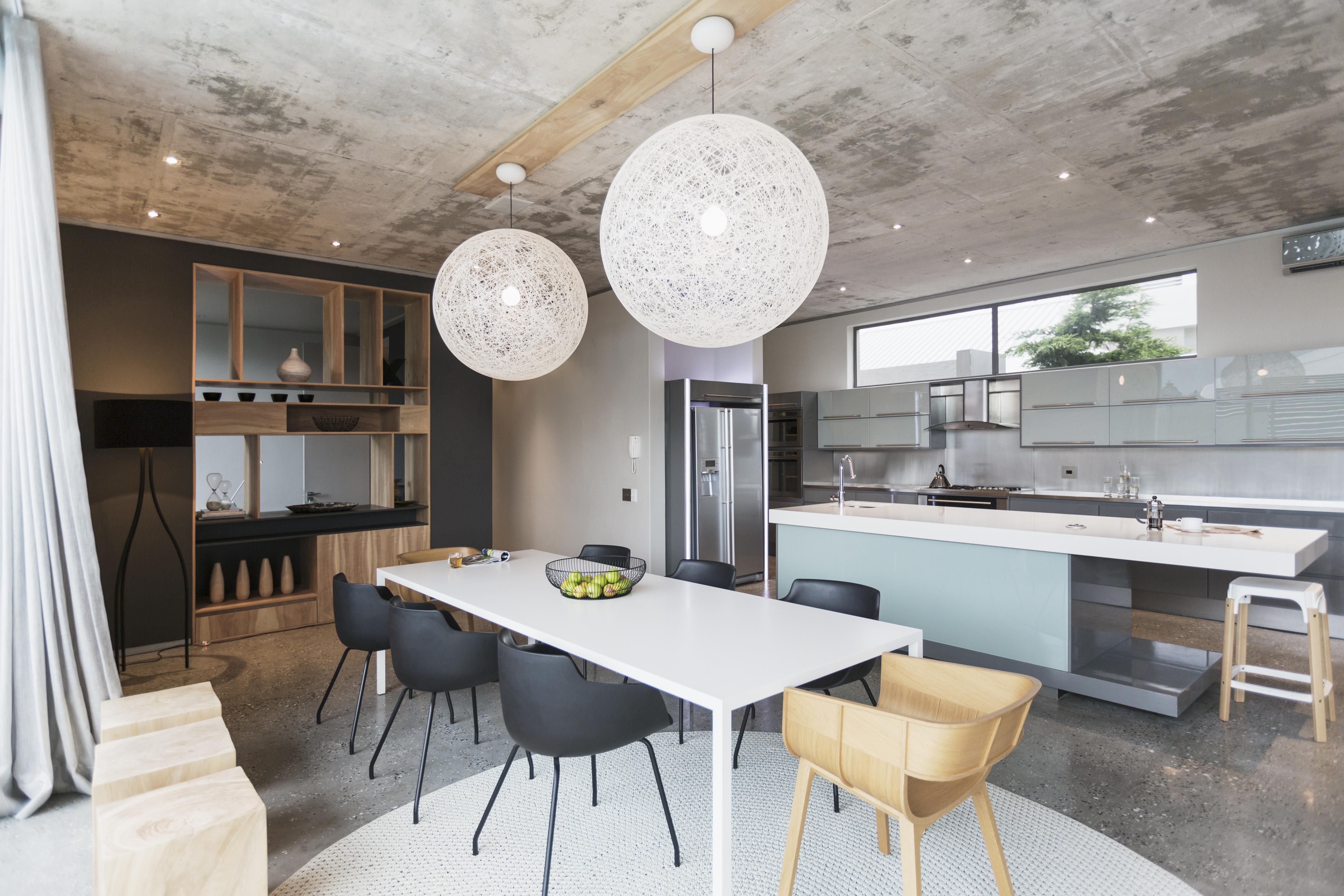 Cozinha planejada vidro