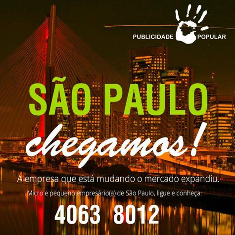 Publicidade Popular em São Paulo