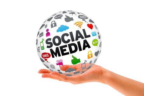 Para ter as mídias sociais em suas mãos?