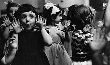 Children Dancing & Playing at Italia Conti