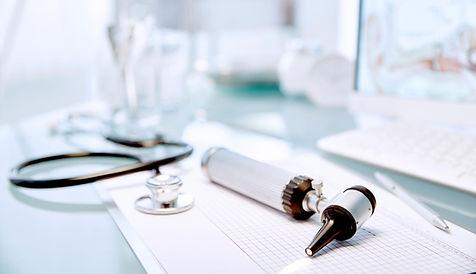 Strumenti medici, studio medico