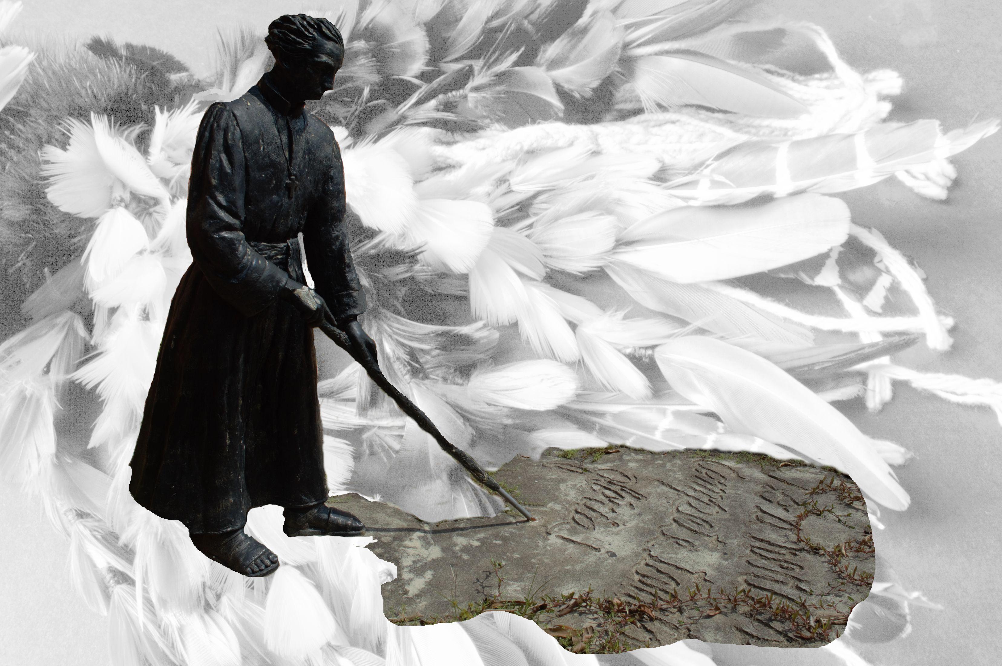 Escultura de Padre Anchieta