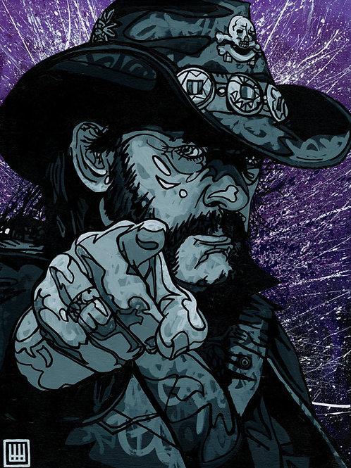 Uncle Lemmy Wants You Print