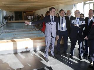 Abre el nuevo Balneario de Caldas de Partovia en O Carballiño.