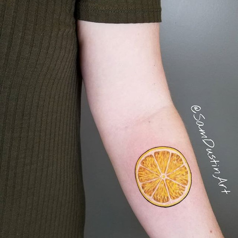 When life gives you lemons, tattoo them!