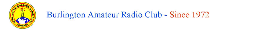 Burlington Amateur Radio Club Header