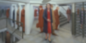 George Tooker, The Subway, 1950.png