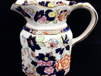 おすすめの英国ビンテージ茶器 | Mason's ジャグ(Blue Mandalay)