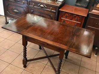 おすすめの英国ビンテージ家具|1930年代製作 ドローリーフテーブル