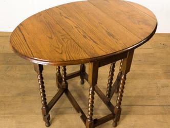 ゲートレッグテーブル|英国ビンテージの家具なら鎌倉アンティークス