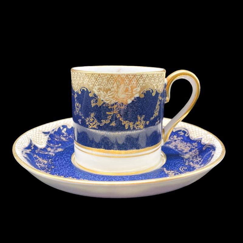 デミタスカップ&ソーサー(Crown Staffordshire)