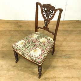 ナーシングチェア(1910年)のご紹介|英国アンティークの家具なら鎌倉アンティークス