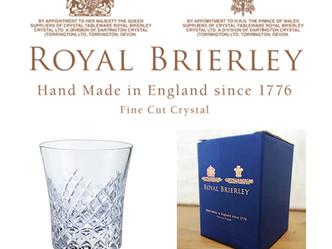 英国王室御用達|ROYAL BRIERLEY(ロイヤルブライアリー)のウィスキータンブラー取扱い販売開始
