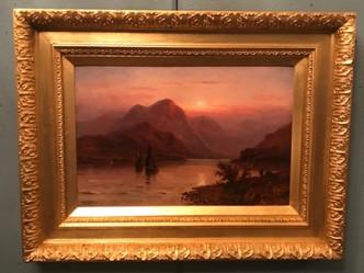 おすすめの英国アンティーク絵画|ビクトリアン後期に描かれた油絵