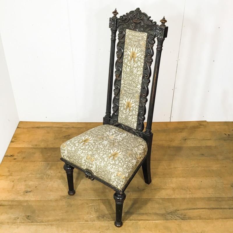 ビクトリアン ホールチェア|英国アンティークの家具なら鎌倉アンティークス
