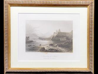 アンティークプリント画のご紹介|英国アンティークの絵画なら鎌倉アンティークス