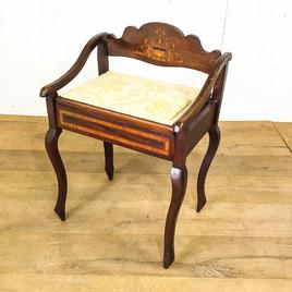 ビクトリアン ミュージックスツール|英国アンティークの家具なら鎌倉アンティークス