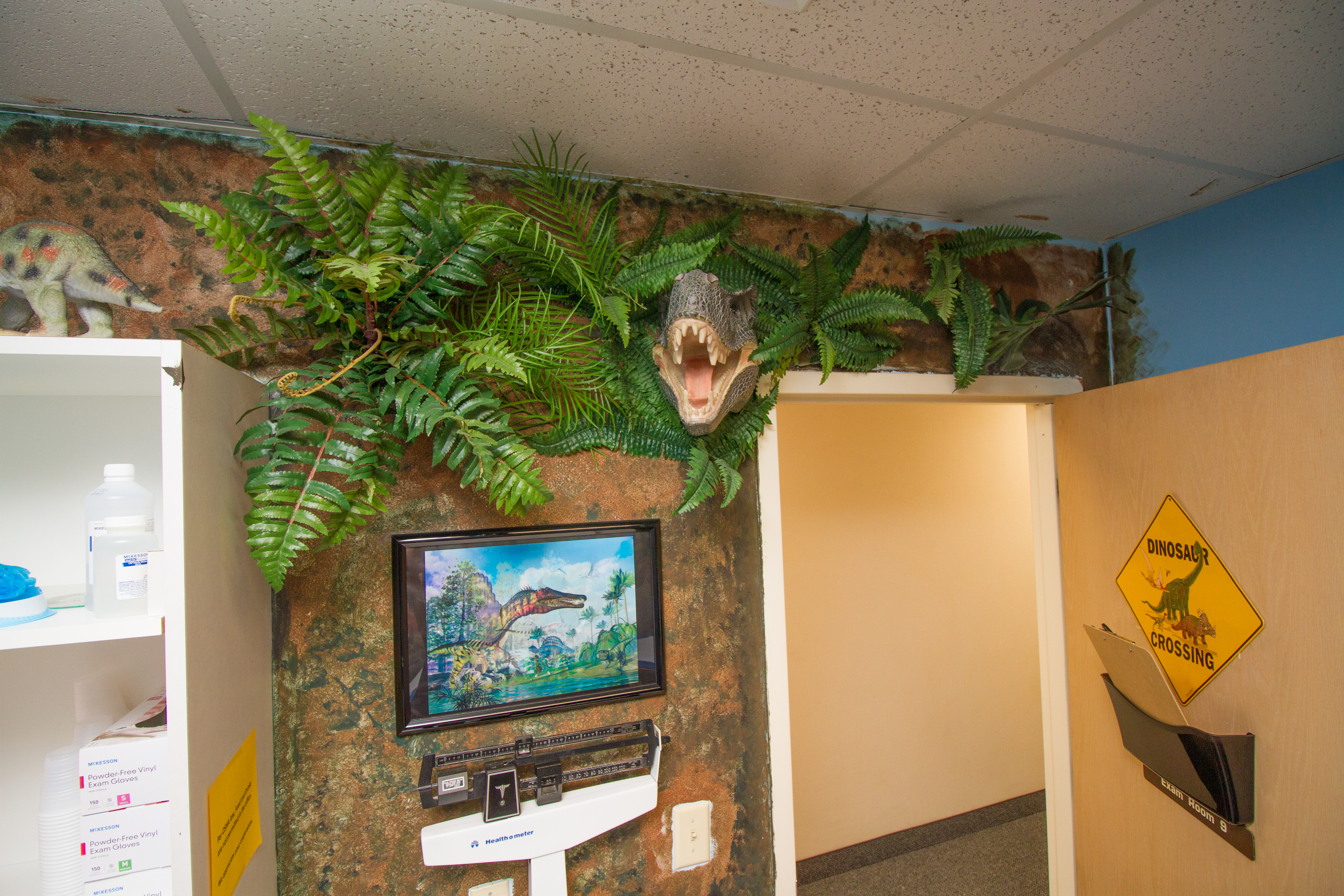 The Dinosaur Room