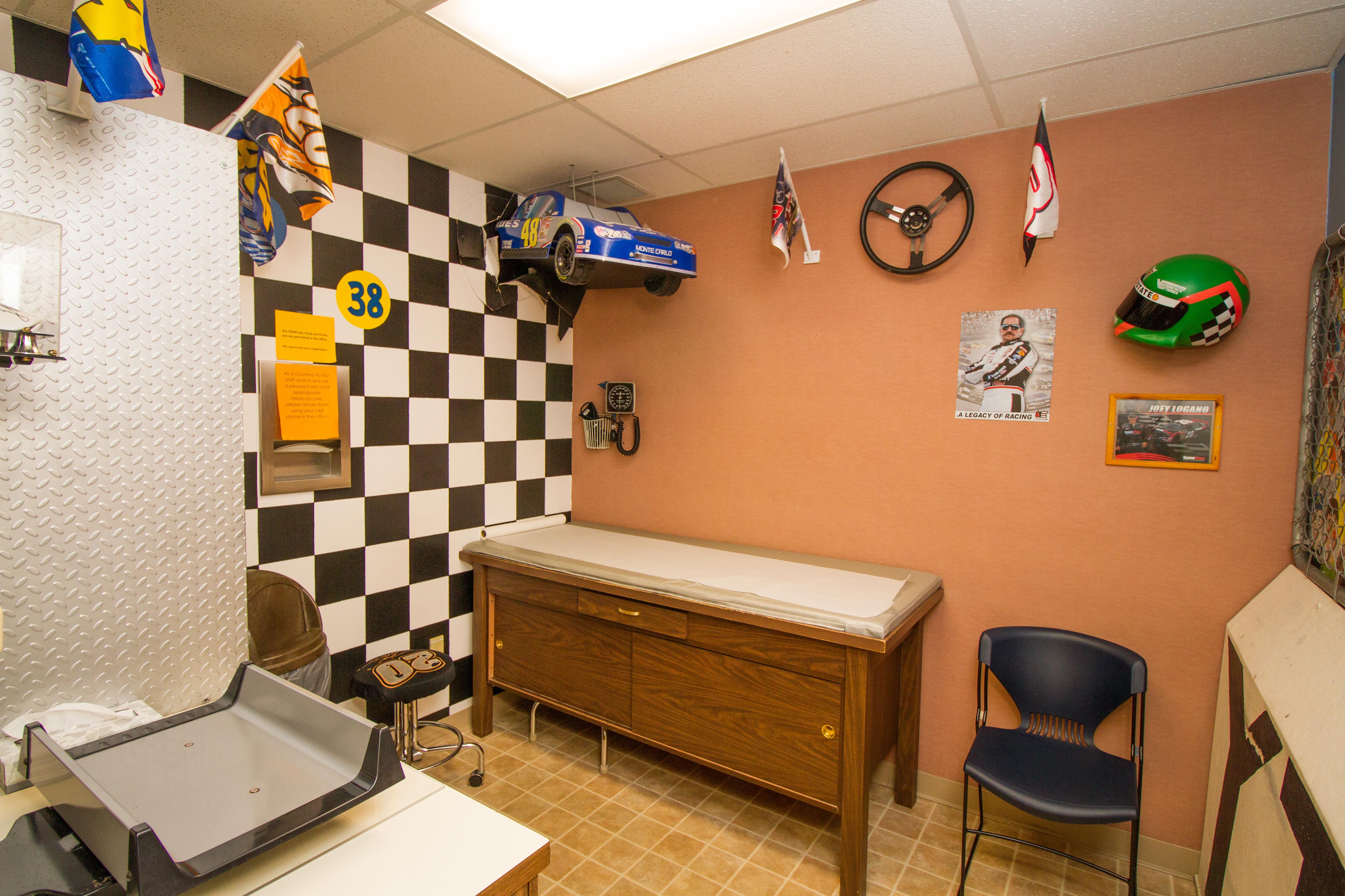 The Nascar Room