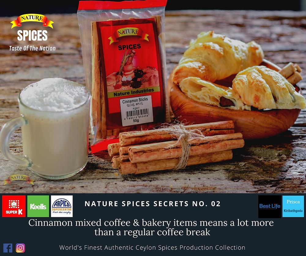 Cinnamon Coffee - Nature Spices - Quick Ideas 02