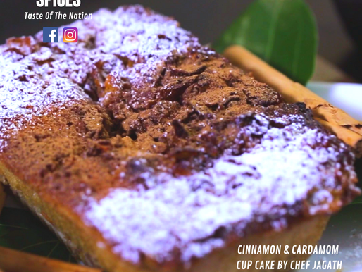 CINNAMON & CARDAMOM CUP CAKE BY CHEF JAGATH
